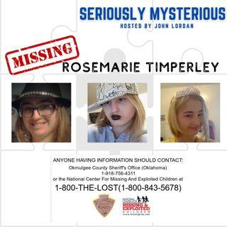Missing RoseMarie Timperley
