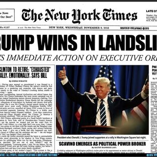 Morning Update 13 Til Election - Biggest F U Vote in History TRUMP Landslide