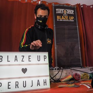 Masta Dread in session - Blaze Up live in Cavelab