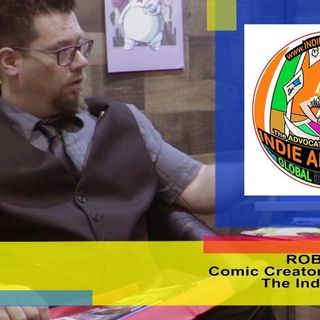 Unboxing the Indie Comics with Indie Advocate Rob Andersin: an interview on the Hangin With Web Show