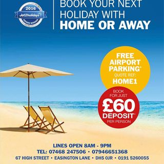 HOME OR AWAY HOLIDAY SHOP LTD