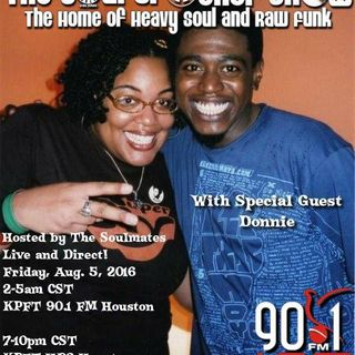 The Soul Sister Birthday Show w/Special Guest Donnie #1