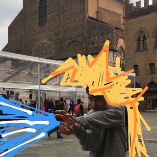 #bologna Goku in centro a Bologna