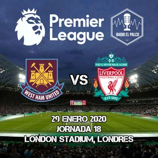 West Ham United vs Liverpool en VIVO
