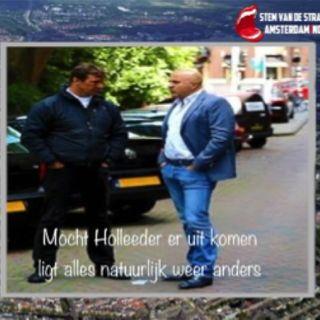 John van den Heuvel ontmaskerd zichzelf als 'Politie-getuige-Journalist in Holleeder-proces.