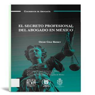 El secreto profesional del abogado - introduccion