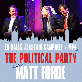 Show 41 - Christmas Special with Ed Balls & Alastair Campbell
