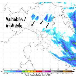 Previsioni meteo 13-15/4. Tempo in miglioramento ma ancora instabile