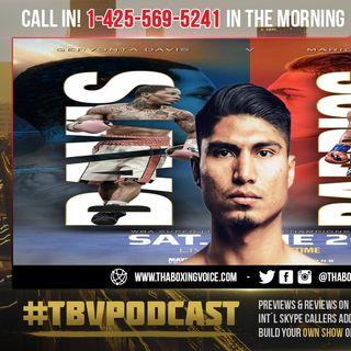 ☎️Mikey Garcia: Gervonta Tank Davis vs. Mario Barrios = 50-50 Fight😱Tank vs Mikey NEXT🤔