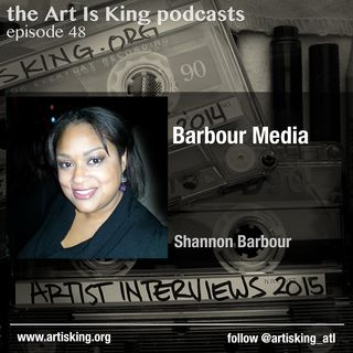 Art Is King podcast 48 - Shannon Barbour