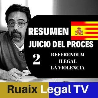 Resumen 2 Analisis Juicio Proces 1-O | Independencia | Cataluña | Noticias | Directo | Juez Marchena
