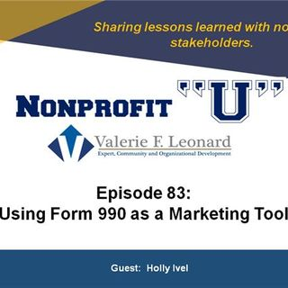 Using Form 990 as a Marketing Tool