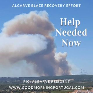 Good Morning Portugal! Algarve blaze recovery effort and the politics of fire