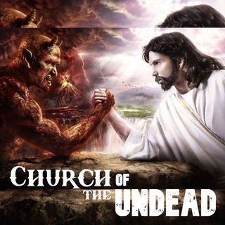"""""""SOME BELIEVE JESUS AND LUCIFER ARE THE SAME PERSON"""" #ChurchOfTheUndead #WeirdDarkness"""
