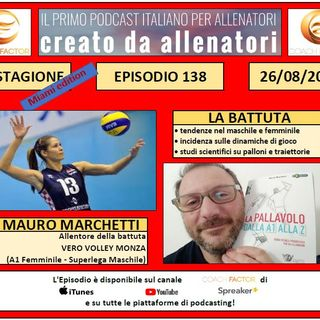 Episodio 138: La battuta - Ospite Mauro Marchetti