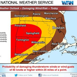 MEMA's Chris Besse On Tuesday Thunderstorms