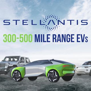 193. Stellantis 300-500 Mile Range EVs | Dodge + RAM + Jeep + Fiat + Chrysler + Opel EV Reveals