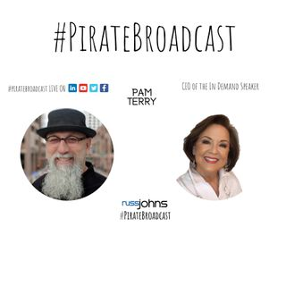 Catch Pam Terry on the #PirateBroadcast
