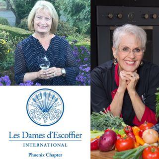 Linda Kissam and Candy Lesher - Les Dames d'Escoffier International in Phoenix AZ