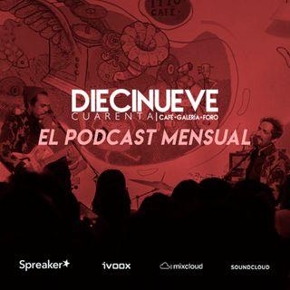 El Podcast Mensual: Episodio Piloto ¿Qué hay en Febrero en 19/40 Café?