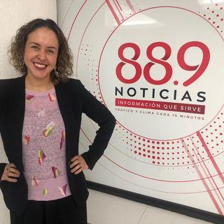 Paola Fontanelli, Gerente de Comunicación, Reputación y Responsabilidad Social de Pfizer México (11 de Julio 2020)