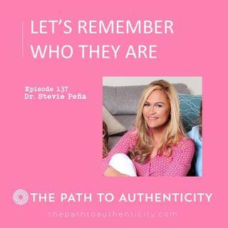 137. Family Therapist Dr. Stevie Peña