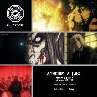 La Constante 6x06.5 - REVIEW Ataque a los Titanes 4x04,05,06 Shingeki no Kyojin