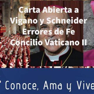 Episodio 302: Errores dañinos a la Fe Católica 🚫 Concilio Vaticano II 😱 Carta abierta a Vigano y a Schneider 👏