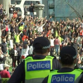 Who's really protesting in Melbourne?