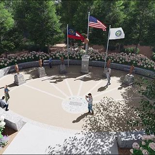 Peachtree Corners Veterans Memorial - A discussion with Bob Ballagh