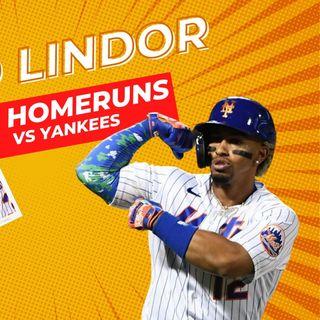 MLB: FRANCISCO LINDOR hace historia y destruye a los YANKEES