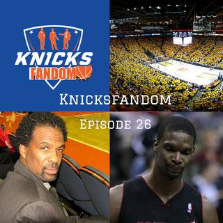 "EP 26: ""Warriors Draw First Blood Against the Cavs!: Oakley & the Knicks are Heading to Trial!: The Heat & Bosh Cut Ties!"" - Knicksfandom"