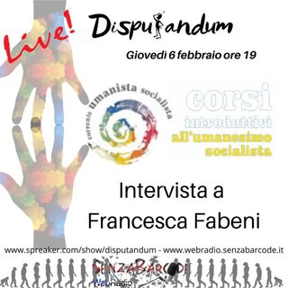 Nuovo Umanesimo Socialista. La Comune, in diretta con Francesca Fabeni