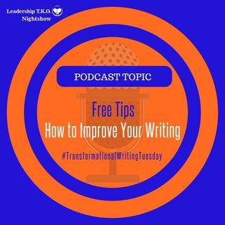 Free Tips - How to Improve Your Writing | Lakeisha McKnight