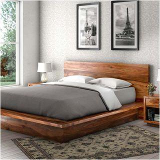 Twin Size Platform Bed