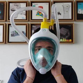 """Daniele Sabiani di Isinnova: """"Abbiamo trasformato maschere da sub in respiratori per l'Ospedale di Chiari"""""""
