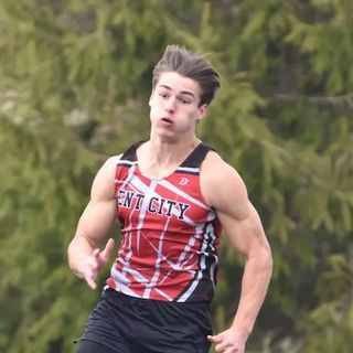 Prep Athlete of the Week - Giovanni Weeks - Kent City Boys Track