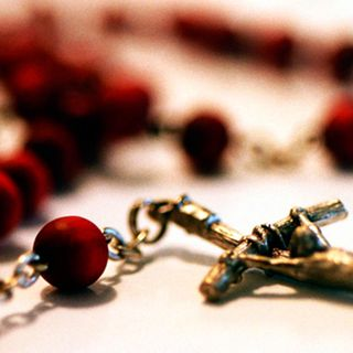 A Pair of Rosary Beads