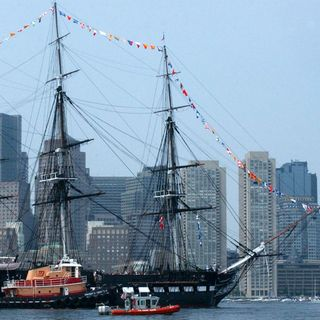 USS Constitution Hosting Tree Lighting