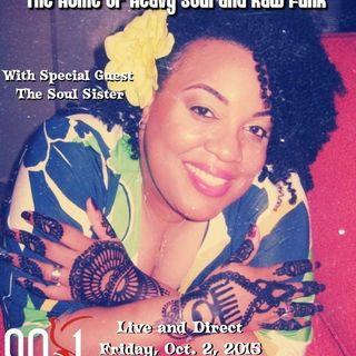 Celebrating Rocktober with The Soul Sister on KPFT 90.1 FM HD3