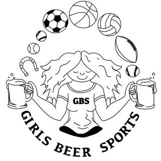 Bumming with Girls Beer Sports