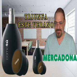 MERCADONA COMO TU TRIUNFO PERFUME PARA HOMBRE