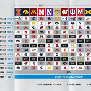 Go B1G or Go Home: Big Ten football is Back! A look at the schedule and much more