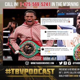 ☎️Gary Russell Jr., Calls Out Gervonta and Devin Haney🔥Haney Claims Russell too SMALL👀