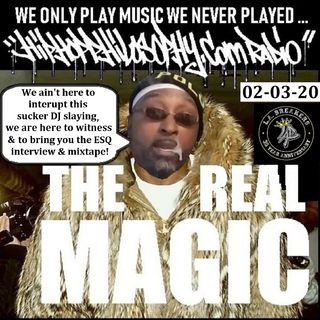 HipHopPhilosophy.com Radio - 02-03-20 - Featuring ESQ in studio interview