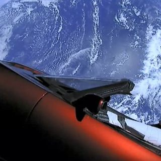 Space Junk in the Space Trunk