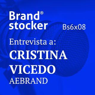 Bs6x08 - Hablamos de branding con Cristina Vicedo, nueva presidenta de AEBrand