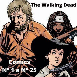 Leemos los cómics de The Walking Dead - Del N° 1 al N° 25