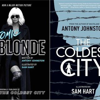"Source Material #127 - ""The Coldest City (Atomic Blonde)"" (Oni Press)(2012)"