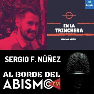 SERGIO F. NÚÑEZ de Trieste Podcast. El periodismo en el podcasting